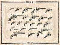 Pl. 14 - Catalogue d'armes Antoine Bertrand Liege 1885