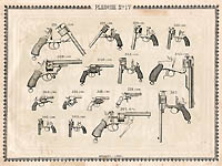 Pl. 17 - Catalogue d'armes Antoine Bertrand Liege 1885