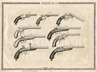 Pl. 19 - Catalogue d'armes Antoine Bertrand Liege 1885