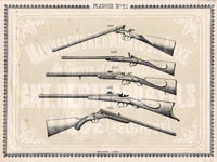 Pl. 21 - Catalogue d'armes Antoine Bertrand Liege 1885