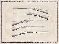 Pl. 22 - Catalogue d'armes Antoine Bertrand Liege 1885