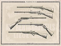 Pl. 42 - Catalogue d'armes Antoine Bertrand Liege 1885