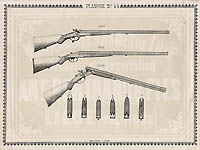 Pl. 44 - Catalogue d'armes Antoine Bertrand Liege 1885