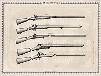 Pl. 47 - Catalogue d'armes Antoine Bertrand Liege 1885