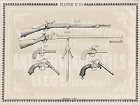 Pl. 54 - Catalogue d'armes Antoine Bertrand Liege 1885