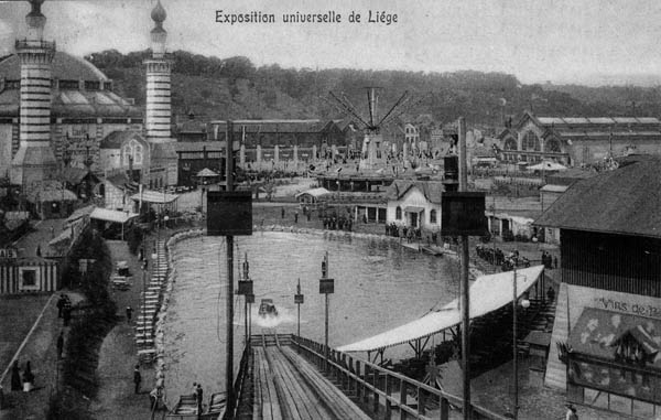 Liege Expo 1905 - Water Chute