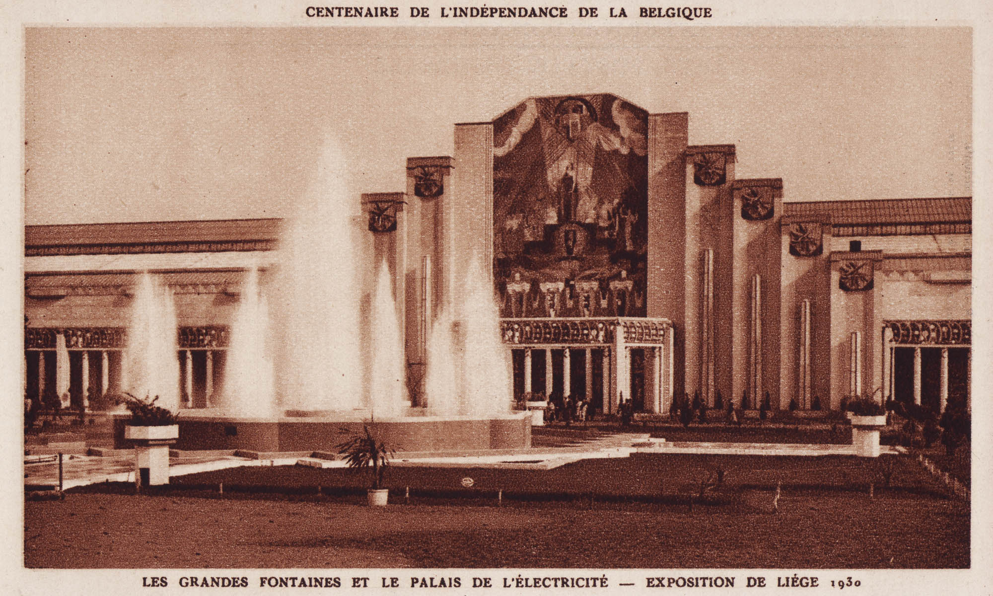liege expo 1930 l 39 exposition ernest godefroid. Black Bedroom Furniture Sets. Home Design Ideas
