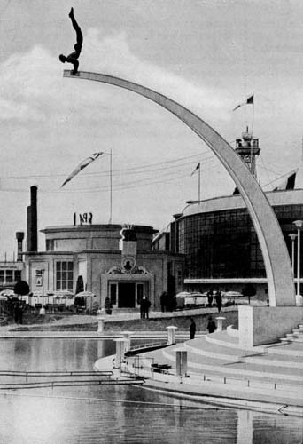 Liege Expo 1939 - Pavillon de Spa