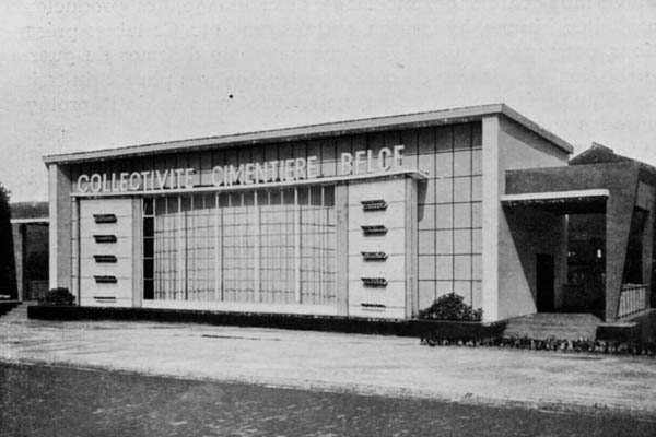 Liege Expo 1939 - Pavillon du Ciment