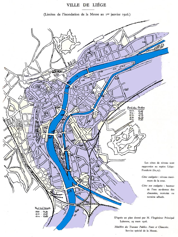 Plan De La Ville De La Plaine Sur Mer