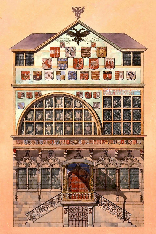 Edifices civils de liege la violette histoire de la - La maison de la place saignon ...